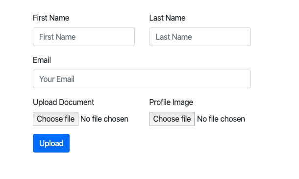 File Upload with Flask